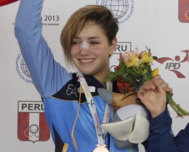 Ayelén Elizeche - Medalla de Bronce en 52 kg